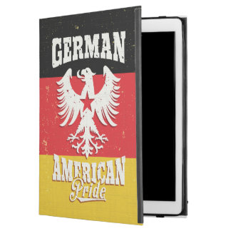 "German American Flag and Vintage Eagle iPad Pro 12.9"" Case"