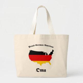 German American Oma - Granny - Grandmother Large Tote Bag