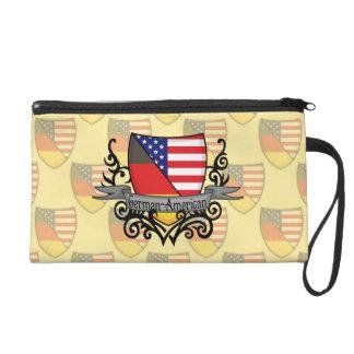 German-American Shield Flag Wristlet Clutches