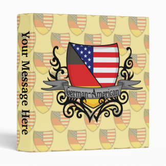 German-American Shield Flag Binder