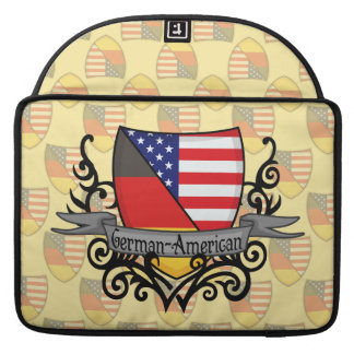 German-American Shield Flag Sleeves For MacBook Pro