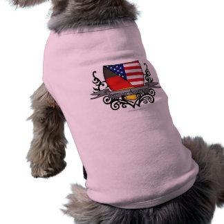 German-American Shield Flag T-Shirt