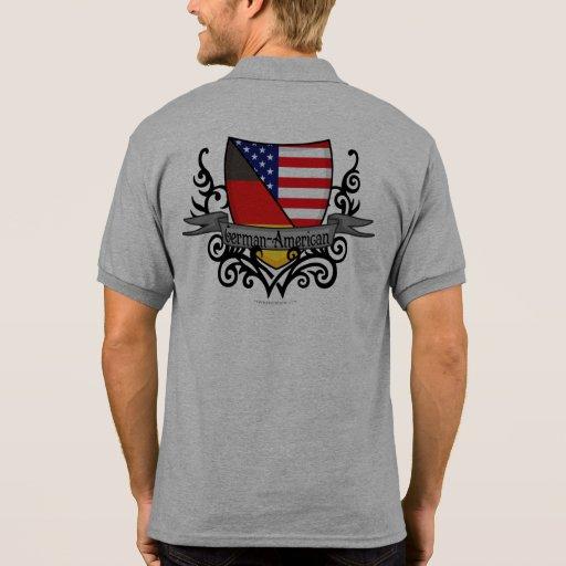German-American Shield Flag Shirts