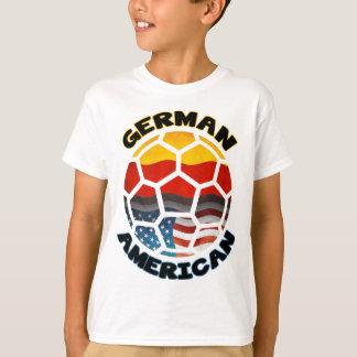 German American Soccer Ball T-Shirt