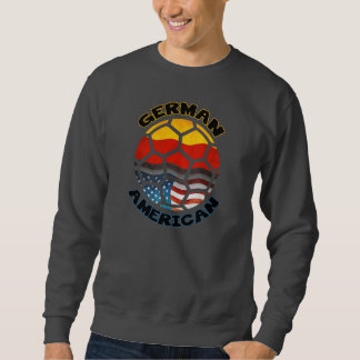 German American Soccer Fan Sweatshirt