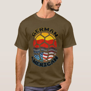German American Soccer T-Shirt