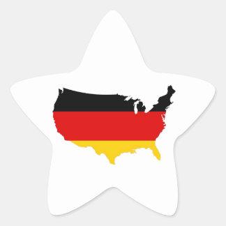 German American Sticker