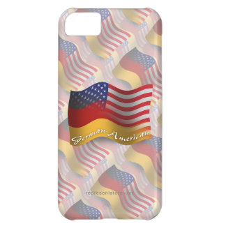 German-American Waving Flag Case For iPhone 5C