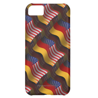 German-American Waving Flag iPhone 5C Cover