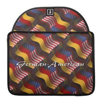 German-American Waving Flag Sleeves For MacBook Pro