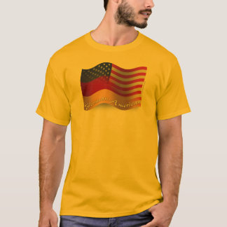 German-American Waving Flag T-Shirt