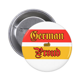 German and Proud Pinback Buttons