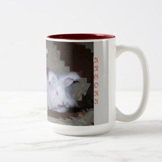 GERMAN ANGORA RABBITS COFFEE & COCOA MUG