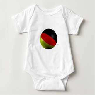 German ball baby bodysuit