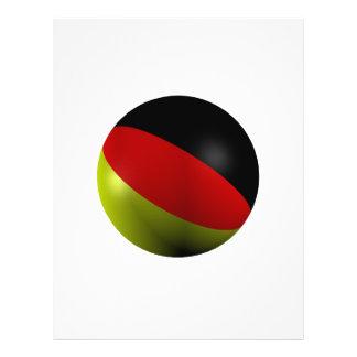 German ball full color flyer