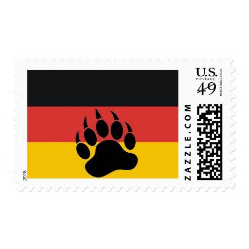 German Bear Pride Postage Stamp