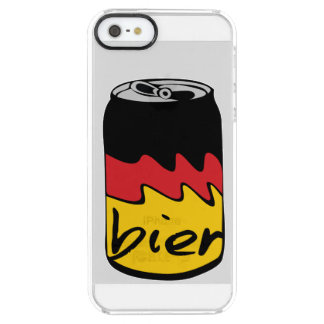 German Beer (Bier) Uncommon Clearly™ Deflector iPhone 5 Case