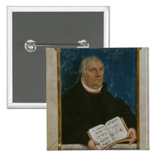 German Bible of Luther's Translation, 1561 2 Inch Square Button