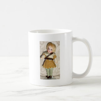 GERMAN BISQUE DOLLS AND ANGELS COFFEE MUG