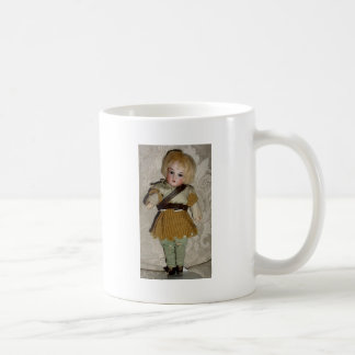 GERMAN BISQUE DOLLS AND ANGELS COFFEE MUG