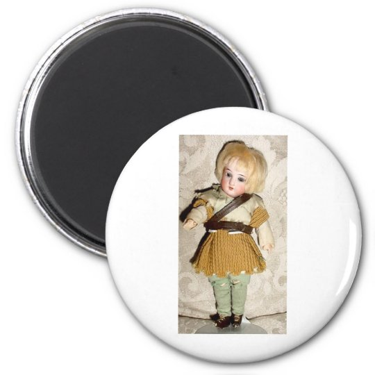 GERMAN BISQUE DOLLS AND ANGELS MAGNET
