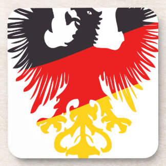 German Black Eagle Beverage Coaster