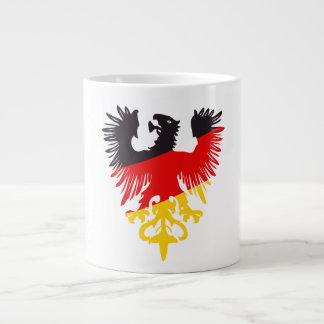 German Black Eagle Large Coffee Mug