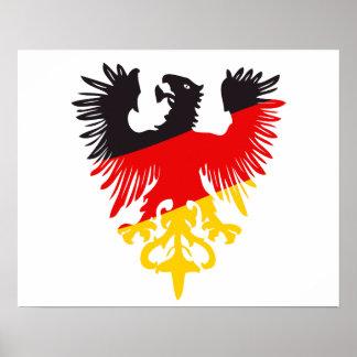 German Black Eagle Poster