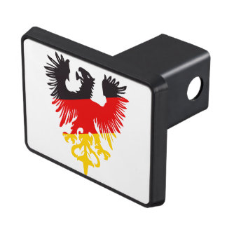 German Black Eagle Tow Hitch Cover