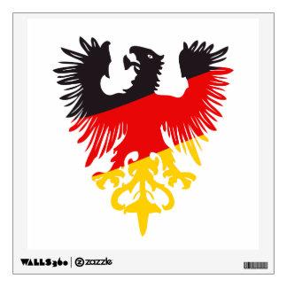 German Black Eagle Wall Sticker
