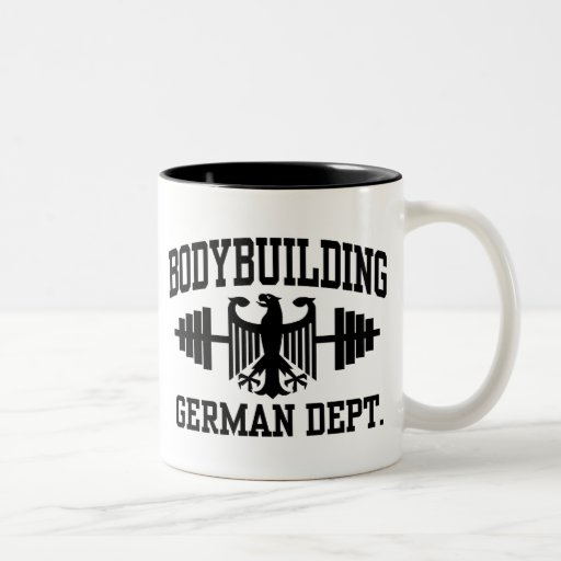German Bodybuilding Mugs