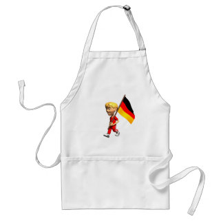 German Boy Adult Apron