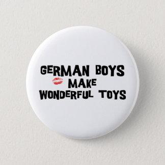 German Boys Make Wonderful Toys Button