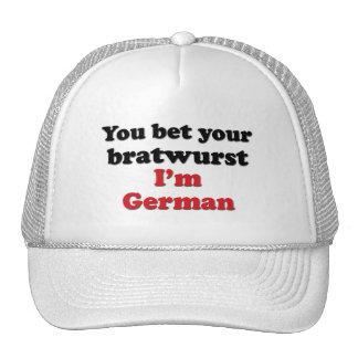 German Bratwurst Hat