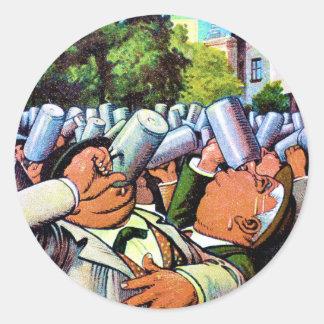 German Brew Fest Classic Round Sticker