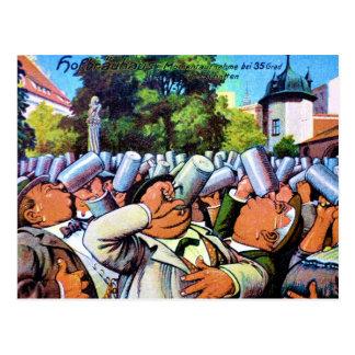 German Brew Fest Postcard