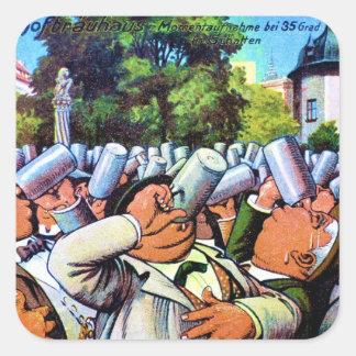 German Brew Fest Square Sticker