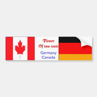 German-canadian bumper stickers