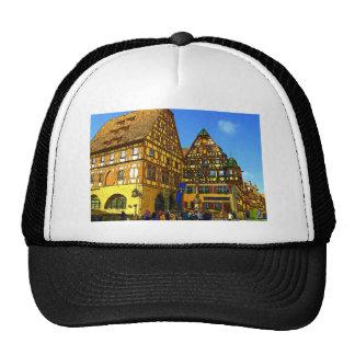 German Cartoon House Rhineland region of Germany Trucker Hats
