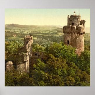 German Castle Auerbach Poster