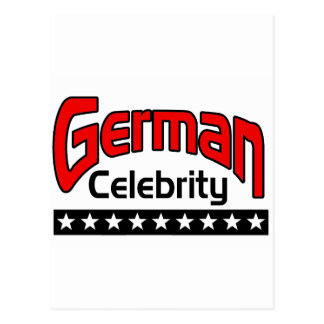 German Celebrity Postcard