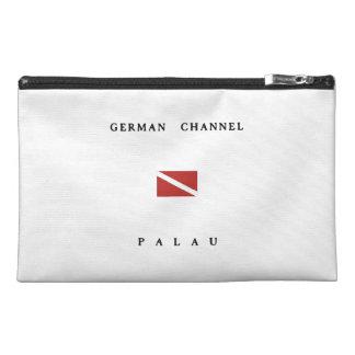 German Channel Palau Scuba Dive Flag Travel Accessories Bag