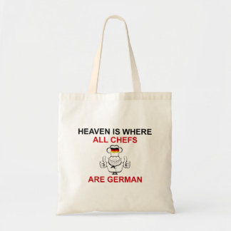 German Chefs Canvas Bags