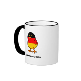 German Chick Coffee Mug