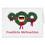 German Christmas 2 Greeting Card