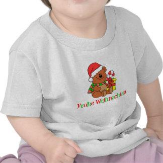 German Christmas Bear T Shirt