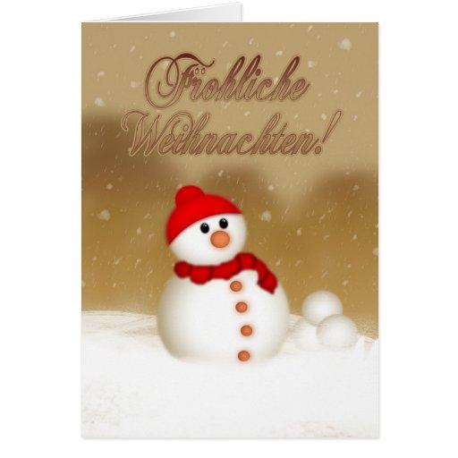 german christmas card gesegnete weihnachten und zazzle. Black Bedroom Furniture Sets. Home Design Ideas