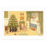 German Christmas Card Postcard