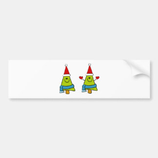 German Christmas Greetings Car Bumper Sticker