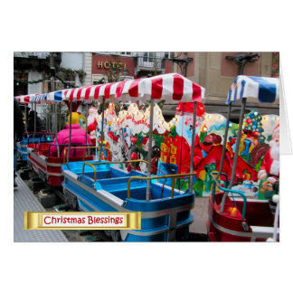 German Christmas, Heidelberg Christmas Transport Card